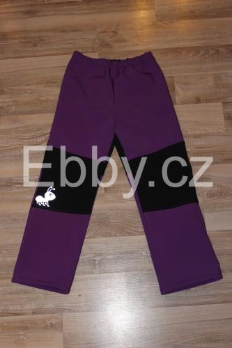 Dětské softshellové kalhoty vel. 122